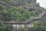 Tháo dỡ công trình xây dựng trái phép tại khu vực Tràng An cổ ở Ninh Bình