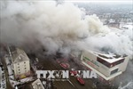 Vụ cháy trung tâm thương mại ở Nga: Cơ quan điều tra khởi tố 7 người liên quan