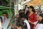 Chương trình 'Bánh xe tri thức' góp phần nâng cao văn hóa đọc cho trẻ nhỏ