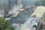 Vụ cháy chợ Quang, Hà Nội: Hàng trăm gian hàng bị thiêu rụi