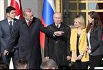 Tổng thống Erdogan, Tổng thống Putin chụp ảnh cùng dàn kiều nữ Thổ Nhĩ Kỳ