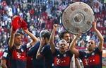 Ấn tượng ngày 'Hùm xám' Bayern lần thứ 28 đăng quang Bundesliga