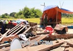 Mưa lớn kèm lốc xoáy làm hơn 100 nhà dân Đắk Lắk sập, tốc mái