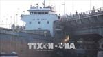 Hỏng máy, tàu trọng tải lớn mắc kẹt vào cầu Đồng Nai