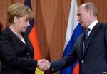 Lãnh đạo Nga và Đức thảo luận hàng loạt vấn đề nóng