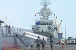 Ngắm trang bị trên 3 tàu Hải quân Hoàng gia Australia vừa cập cảng Sài Gòn