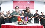 Việt Nam bàn giao Trung tâm mô phỏng huấn luyện chiến đấu cho Bộ Quốc phòng Lào
