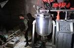 Bên trong phòng thí nghiệm hóa học của phiến quân tại Syria