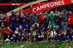 Đè bẹp Sevilla 5-0, Barcelona đăng quang Cúp nhà vua Tây Ban Nha