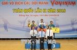 Bế mạc Giải vô địch các đội mạnh Vovinam toàn quốc