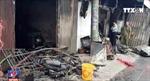 3 mẹ con tử vong thương tâm trong căn nhà cháy rụi tại Nam Định