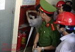 Nhiều sai phạm trong phòng cháy chữa cháy tại các khu chung cư Hà Nội