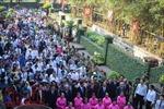 Hàng nghìn người dân TP Hồ Chí Minh nô nức dự lễ giỗ Quốc tổ Hùng Vương