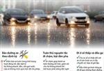 Kinh nghiệm lái xe mùa mưa ngập