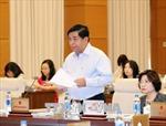 Bước đầu sẽ sửa đổi, bổ sung 13 Luật liên quan đến Luật quy hoạch