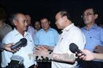 Thủ tướng kiểm tra việc khắc phục sự cố môi trường biển tại Thừa Thiên Huế, Quảng Trị