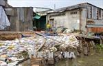 Sạt lở tuyến sông Ô Môn ngày càng nghiêm trọng