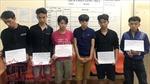 Nhóm thanh niên chưa tròn 18 tuổi mang theo hung khí, một đêm gây ra 4 vụ trộm cướp
