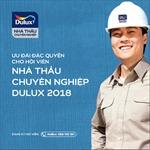 """Chọn nhà thầu sơn uy tín với chương trình """"Nhà thầu chuyên nghiệp Dulux"""""""