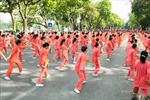 Vinamik Sure Prevent tiếp tục đồng hành cùng phong trào rèn luyện sức khỏe người cao tuổi tại Hà Nội