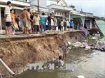 Cần Thơ hỗ trợ 34 hộ dân bị ảnh hưởng do sạt lở bờ sông Ô Môn