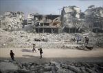 Cận cảnh vùng ngoại ô Damascus hoang tàn sau giải phóng