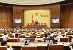 Kỳ họp thứ 5, Quốc hội khóa XIV: Tiếp tục thảo luận các vấn đề kinh tế- xã hội