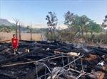 Khắc phục hậu quả vụ cháy 2 nhà dân ở huyện Vị Xuyên, Hà Giang