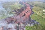 Kết cấu đảo Hawaii bị phá hủy do dung nham từ núi lửa Kilauea