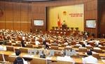 Ngày 8/6, Quốc hội thảo luận, biểu quyết thông qua nhiều dự thảo Luật, Nghị quyết