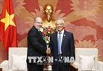 Phó Chủ tịch Quốc hội Uông Chu Lưu tiếp đoàn công tác Bộ Ngoại giao Cuba