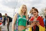 Ngắm những hot girl Nga xinh đẹp ở World Cup 2018