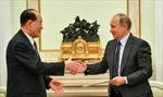 Có gì trong 'phong thư khổng lồ' nhà lãnh đạo Triều Tiên gửi Tổng thống Putin?