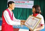 Người phụ nữ nghèo với 'bảng thành tích' 28 lần tình nguyện hiến máu