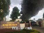 Cháy lớn tại Công ty Cổ phần thông Quảng Ninh