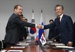Nga và Hàn Quốc nhất trí tăng cường hợp tác trong lĩnh vực kinh tế và vấn đề Triều Tiên