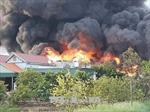 Cháy Công ty cổ phần Thông Quảng Ninh gây thiệt hại hơn 10 tỷ đồng