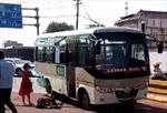 Tấn công bằng dao trên xe buýt, 8 người bị thương