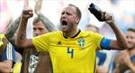 Ba cầu thủ Thụy Điển bỏ lỡ trận đấu với Đức đêm nay vì đau bụng