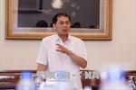 Thứ trưởng thường trực Bộ Ngoại giao Bùi Thanh Sơn thăm làm việc Singapore và Ấn Độ