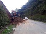 Khẩn trương khắc phục sạt lở Quốc lộ 4C đi Cao nguyên đá Đồng Văn