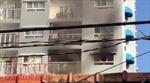 Cháy căn hộ chung cư Ihome ở quận Gò Vấp, cư dân tháo chạy