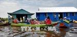 Khánh thành lớp học nổi cho con em Việt kiều tại Biển Hồ Tonle Sap