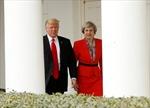 Thủ tướng Anh 'hồi hộp' chờ gặp gỡ Tổng thống Trump
