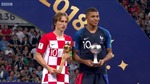 Luka Modric giành Quả bóng Vàng World Cup 2018