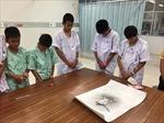 Đội bóng thiếu niên Thái Lan tri ân thợ lặn thiệt mạng trong chiến dịch giải cứu Tham Luang