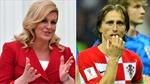 Nữ Tổng thống Croatia khiến Quả bóng vàng World Cup 2018 Luka Modric lu mờ