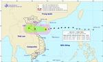 Bão số 3 giật cấp 11 cách bờ biển Thái Bình - Hà Tĩnh khoảng 390 km