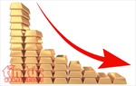 Giá vàng châu Á rơi xuống mức thấp nhất trong một năm