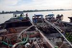 Bến Tre xử lý nghiêm các trường hợp khai thác cát trái phép